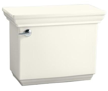Kohler K-4491-NG Memoirs Toilet Tank with Classic Design - Tea Green (Pictured in White)