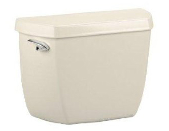 Kohler K-4620-U-47 Wellworth Toilet Tank with Insuliner Tank Liner - Almond (Pictured in White)