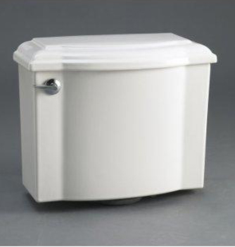 Kohler K-4708-96 Devonshire Toilet Tank - Biscuit (Pictured in White)