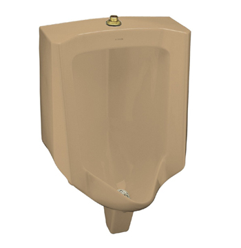 Kohler K-4960-ET-33 Bardon Urinal with Top Spud - Mexican Sand