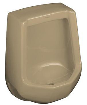 Kohler K-4989-R-33 Freshman Urinal with Rear Spud - Mexican Sand