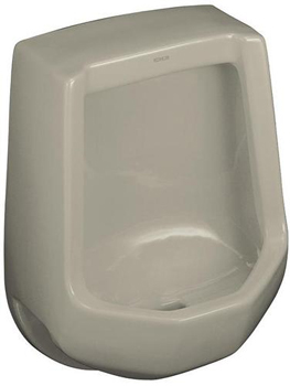 Kohler K-4989-R-G9 Freshman Urinal with Rear Spud - Sandbar