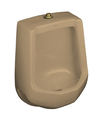 Kohler K-4989-T-33 Freshman Urinal with Top Spud - Mexican Sand