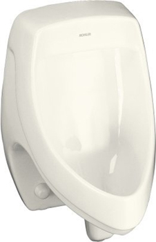 Kohler K-5016-ER-96 Dexter Elongated Urinal with Rear Spud - Biscuit