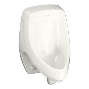 Kohler K-5016-ER-7 Dexter Elongated Urinal with Rear Spud - Black (Pictured in White)
