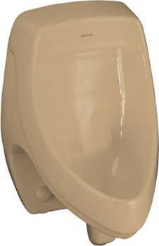 Kohler K-5016-ER-33 Dexter Elongated Urinal with Rear Spud - Mexican Sand