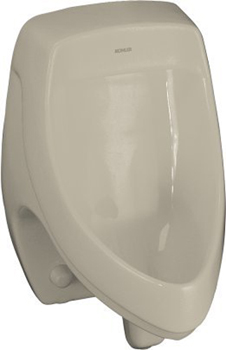 Kohler K-5016-ER-G9 Dexter Elongated Urinal with Rear Spud - Sandbar