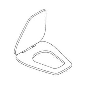 Kohler K-1014072 Rochelle Toilet Seat - White