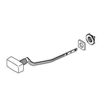Kohler 1025329-CP Trip Lever Kit Left - Chrome