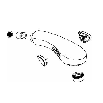 Kohler 1041319-CP Spray Kit - Chrome
