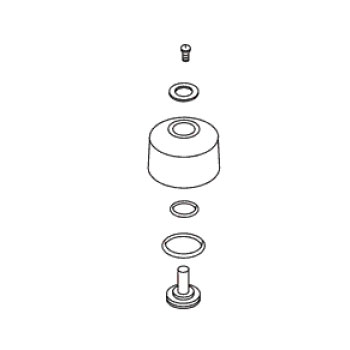 Kohler 30253-CP Check Valve Rebuild Kit SP - Chrome