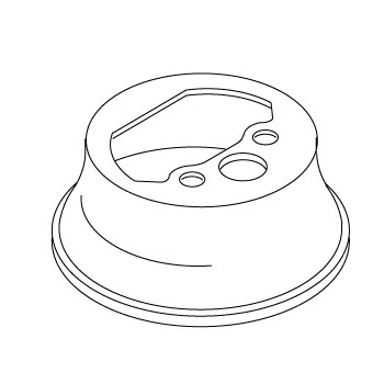 Kohler 78049-CP Escutcheon - Chrome