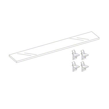 Kohler CB-SHLFCLC20 Inner Glass Shelf Clc20 1Pk