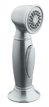 Kohler K-10101-G Accent Kitchen Sidespray - Brushed Chrome