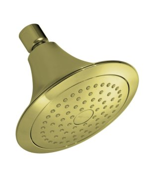 Kohler K-10282-AF Forte Single Function Showerhead - Vibrant French Gold