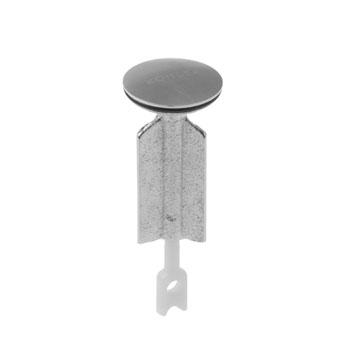 kohler k 1037022 g brass plunger assembly brushed chrome. Black Bedroom Furniture Sets. Home Design Ideas