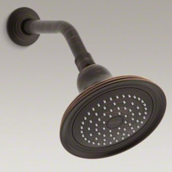 Kohler K-10391-2BZ Devonshire Single-Function Showerhead - Oil Rubbed Bronze