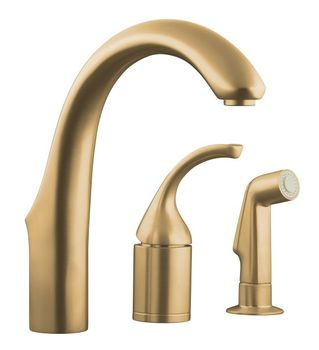 Kohler K-10441-BV Forte Entertainment Remote Valve Sink Faucet - Brushed Bronze