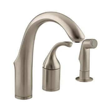 Kohler K-10441-BV Forte Entertainment Remote Valve Sink Faucet - Brushed Bronze