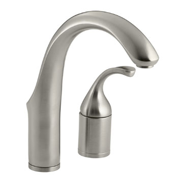 Kohler K-10443-BN Forte Entertainment Kitchen Sink Faucet w/o Sidespray - Vibrant Brushed Nickel