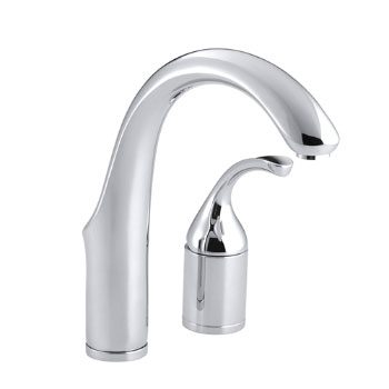 Kohler K-10443-CP Fort� Entertainment Kitchen Sink Faucet w/o Sidespray - Polished Chrome