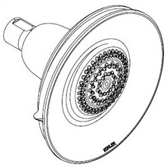 Kohler K-10548-BN Bancroft 1.75 GPM Multifunction Showerhead - Brushed Nickel