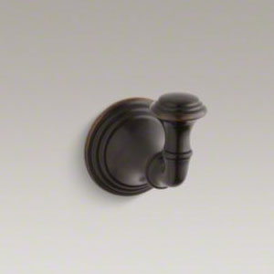 Kohler K-10555-2BZ Devonshire Robe Hook - Oil Rubbed Bronze