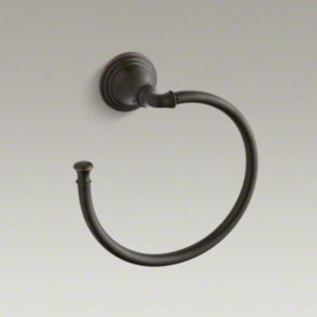 Kohler K-10557-2BZ Devonshire Towel Ring - Oil Rubbed Bronze