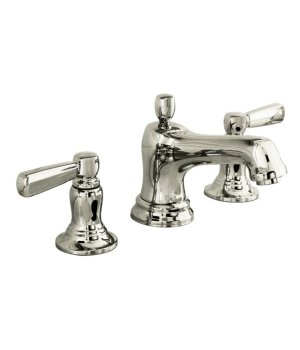 Kohler K-10577-4-SN Bancroft Widespread Lavatory Faucet with Metal Levers - Polished Nickel