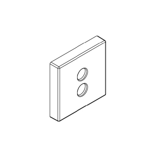 Kohler K-1081394-CP Escutcheon - Chrome