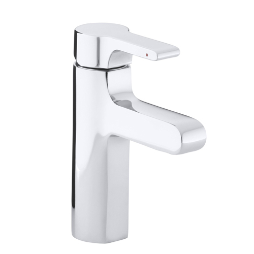 Kohler K-10860-4-CP Singulier Single Hole Bathroom Sink Faucet - Chrome