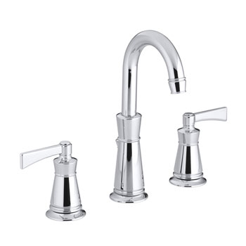 Kohler K-11076-4-CP Archer Widespread Lavatory Faucet With 8 in Centers - Polished Chrome