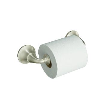 Kohler K-11274-BN Forte Traditional Toilet Tissue Holder - Vibrant Brushed Nickel
