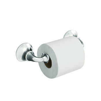 Kohler K-11274-CP Forte Traditional Toilet Tissue Holder - Polished Chrome