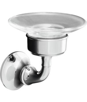 Kohler K-11280-CP Forte Wall Mounted Soap Dish - Chrome
