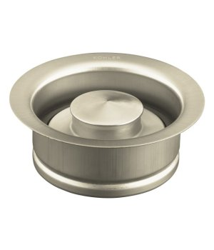 Kohler K-11352-BN Garbage Disposal Flange - Vibrant Brushed Nickel