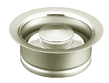 Kohler K-11352-BS Garbage Disposal Flange - Brushed Stainless (Pictured in Polished Nickel)