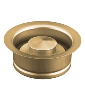 Kohler K-11352-BV Garbage Disposal Flange - Vibrant Brushed Bronze