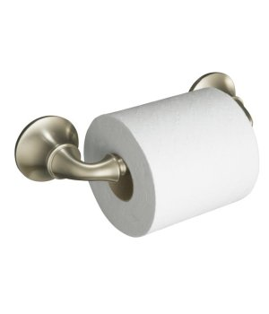 Kohler K-11374-BN Forte Sculpted Toilet Tissue Holder - Brushed Nickel