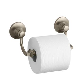 Kohler K-11415-BV Bancroft Toilet Tissue Holder - Vibrant Brushed Bronze