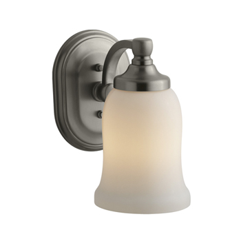 Kohler K-11421-BN Bancroft Single Light Wall Sconce - Vibrant Brushed Nickel
