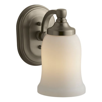 Kohler K-11421-BV Bancroft Single Wall Sconce - Brushed Bronze