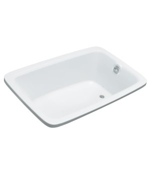 Kohler K-1158-G-0 Bancroft 5.5' Experience BubbleMassage Bath with Heater - White