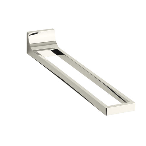 Kohler K-11586-SN Loure Towel Arm - Polished Nickel