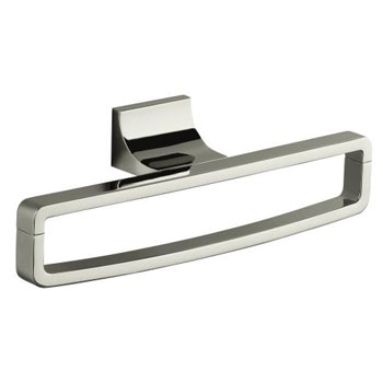 Kohler K-11587-SN Loure Towel Ring - Polished Nickel