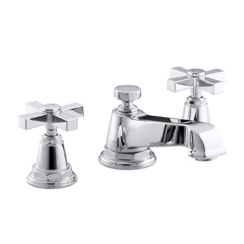 kohler pin faucet by gold brass brushed tap faucets bathroom and