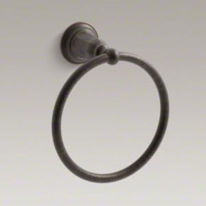 Kohler K-13507-2BZ Kelston Towel Ring - Oil Rubbed Bronze