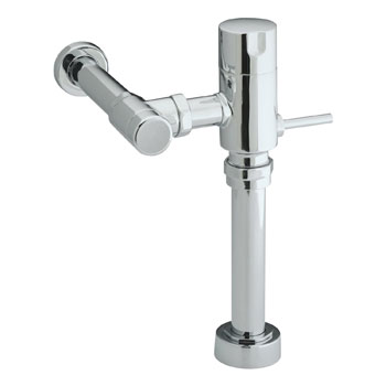 Kohler K-13517-RF-CP Manual Toilet Flush Valve 1.28 gpf Retrofit - Chrome