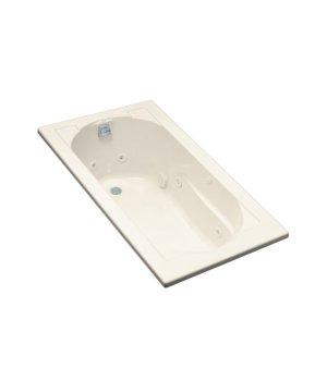 Kohler K-1357-47 Devonshire 5' Whirlpool Bath - Almond
