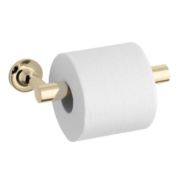 Kohler K-14377-AF Purist Toilet Paper Holder - French Gold